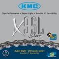 Цепь KMC X9SL silver