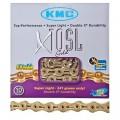 Цепь KMC X10SL gold