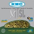 Цепь KMC X 11SL gold