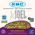 Цепь KMC X10EL gold