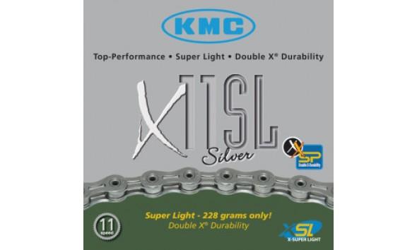 Цепь KMC X 11 SL silver
