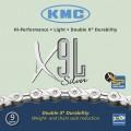 Цепь KMC X9L silver