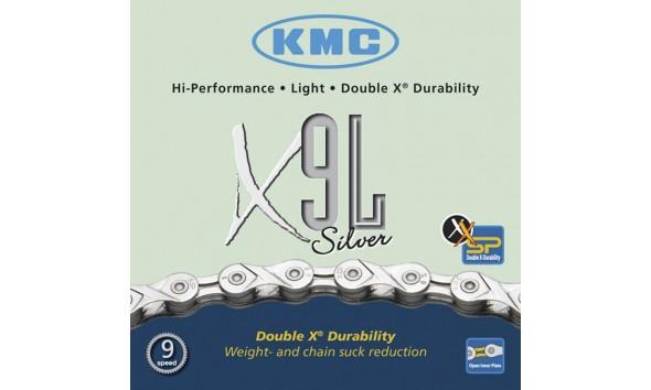Цепь KMC X 9 L silver