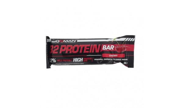 Протеиновый батончик Ironman 32 Protein  Bar cherry 50 гр