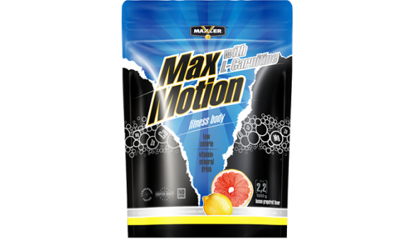 Изотоник Max Motion l-carnitine Lemon-Grapefruit 1000 гр